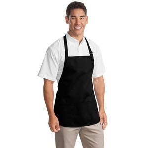 Port Authority® Medium-Length Apron w/Pouch Pocket